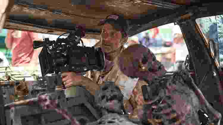 Zack Snyder no set de 'Army of The Dead: Invasão em Las Vegas' - CLAY ENOS/NETFLIX - CLAY ENOS/NETFLIX