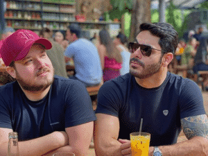 BBB 21: Israel, dupla de Rodolffo, fala sobre o parceiro no reality - Instagram/@israelerodolffo - Instagram/@israelerodolffo