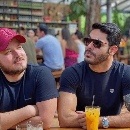 BBB 21: Israel, dupla de Rodolffo, fala sobre o parceiro no reality - Instagram/@israelerodolffo