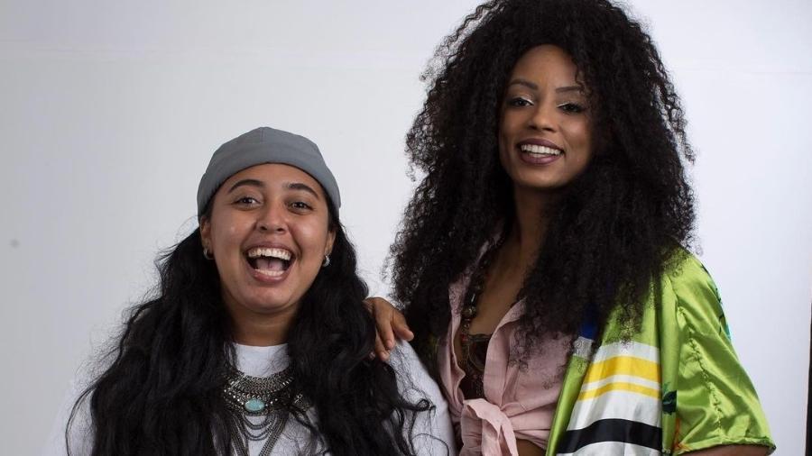 BBB 21: Lumena e a namorada, Fernanda Maia - Reprodução/Instagram