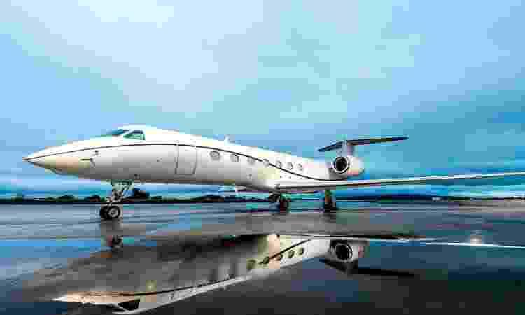 Gulfstream G550 - Divulgação/Flapper - Divulgação/Flapper