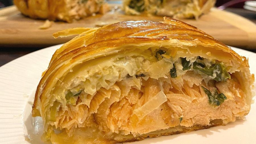 Coulibiac: prato russo amado pelos franceses - Felipe Caputo