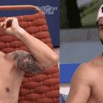 BBB 21: Antes e depois de Rodolffo - Reprodução/Globoplay