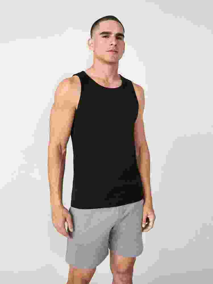 Camiseta regata da Shein - Reprodução - Reprodução