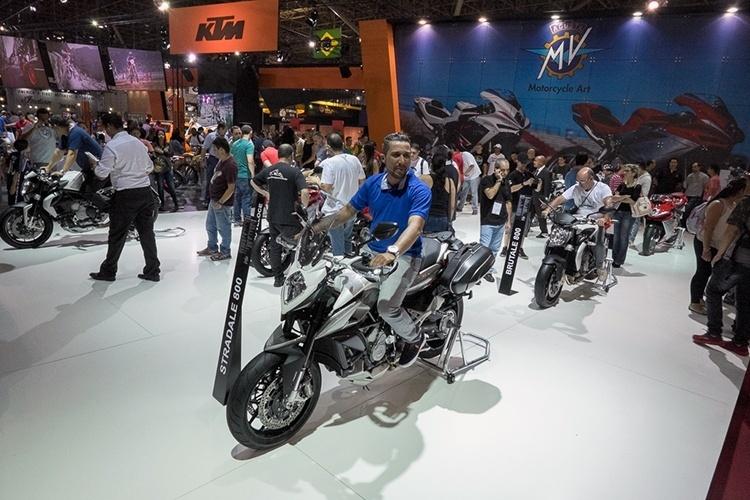 MV Agusta no Salão Duas Rodas 2015