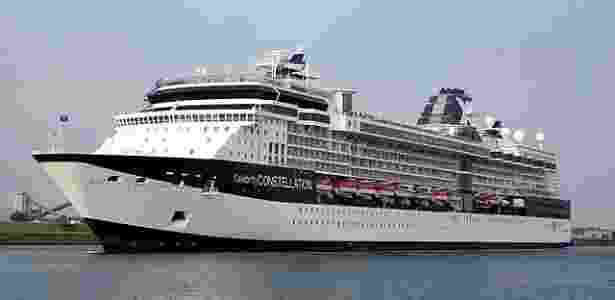 O cruzeiro nudista será realizado com o navio Celebrity Constellation - Divulgação/Celebrity Cruises - Divulgação/Celebrity Cruises