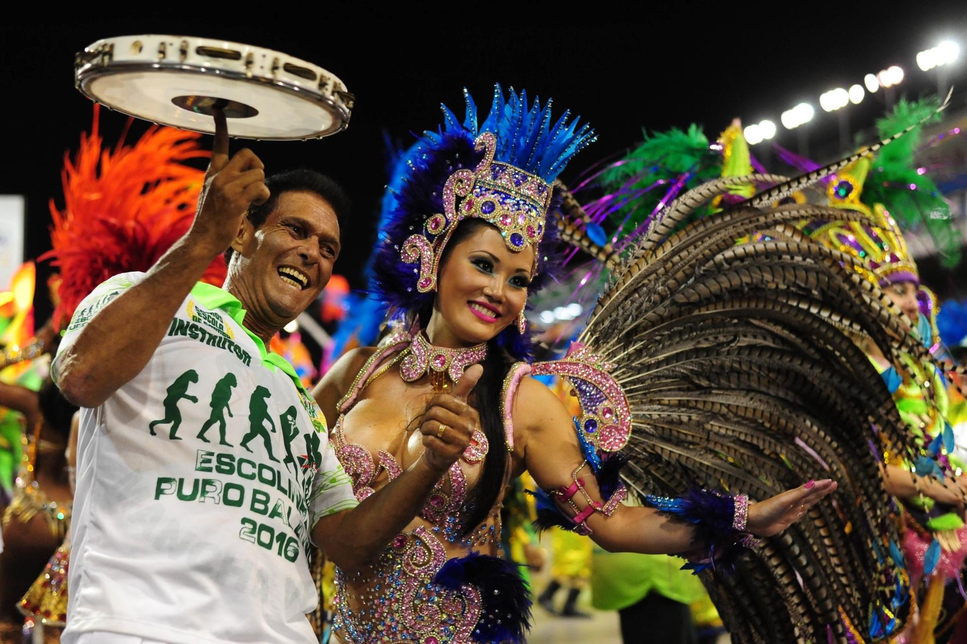 13.fev.2016 - O desfile de 2017 será o 11º da Mancha Verde no Grupo Especial