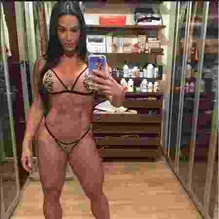Gracyanne Barbosa não gosta que gosta de exibir o corpo malhado nas redes sociais - Reprodução/Instagram/@graoficial