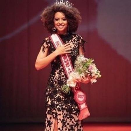 De black, Karen Porfiro venceu a competição Miss Município de São Paulo 2017 - Reprodução/Instagram