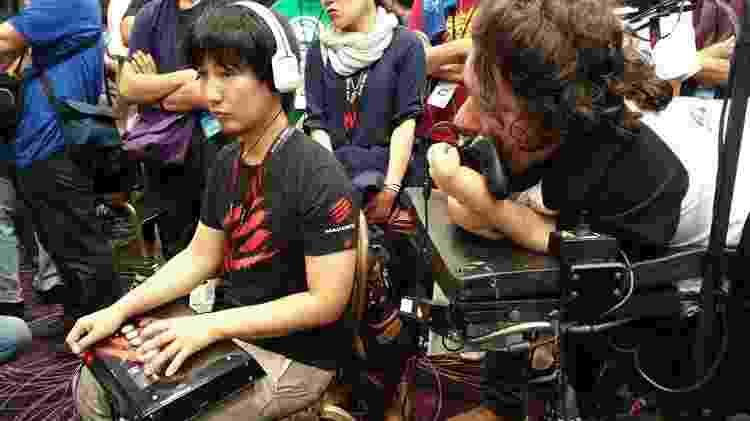 Foi no EVO de 2015 que Mike enfrentou Daigo Umehara (foto), considerado um dos cinco deuses japoneses em jogos de luta - Reprodução