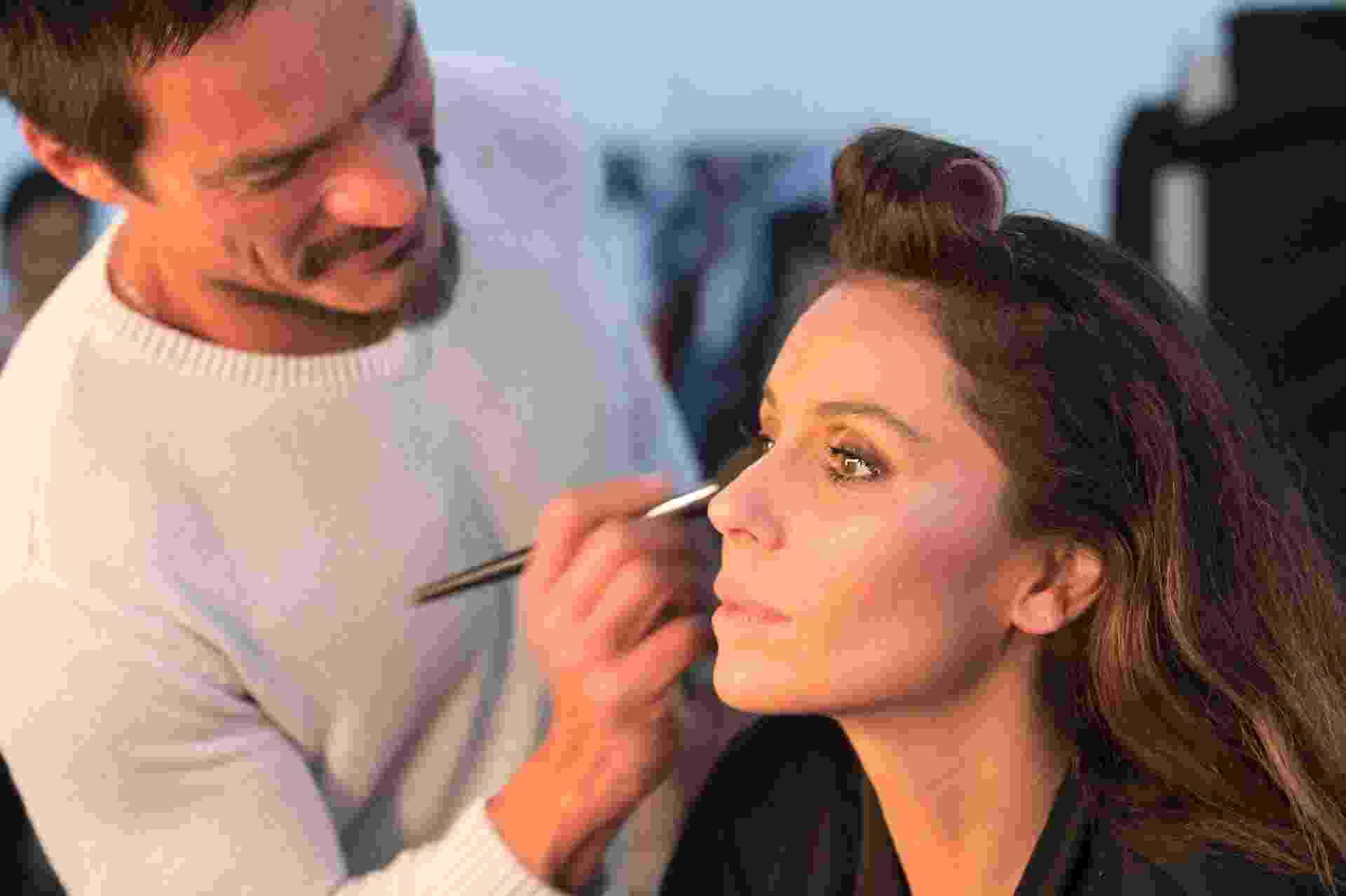 Giovanna Antonelli em making of da campanha da Zattini - Divulgação