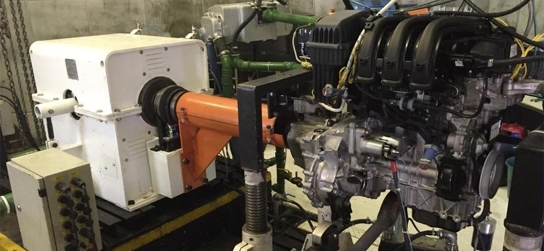Bancada de testes: aprovação de motores nacionais mais eficientes pode ser acelerada com projeto - Divulgação/CPEbio
