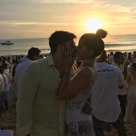 Aline Gotschalg e Geraldo Couto assumem romance - Reprodução/Instagram/alinegoficial