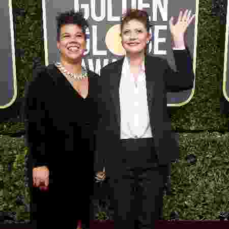 Rosa Clemente com a atriz Susan Sarandon - Getty Images - Getty Images