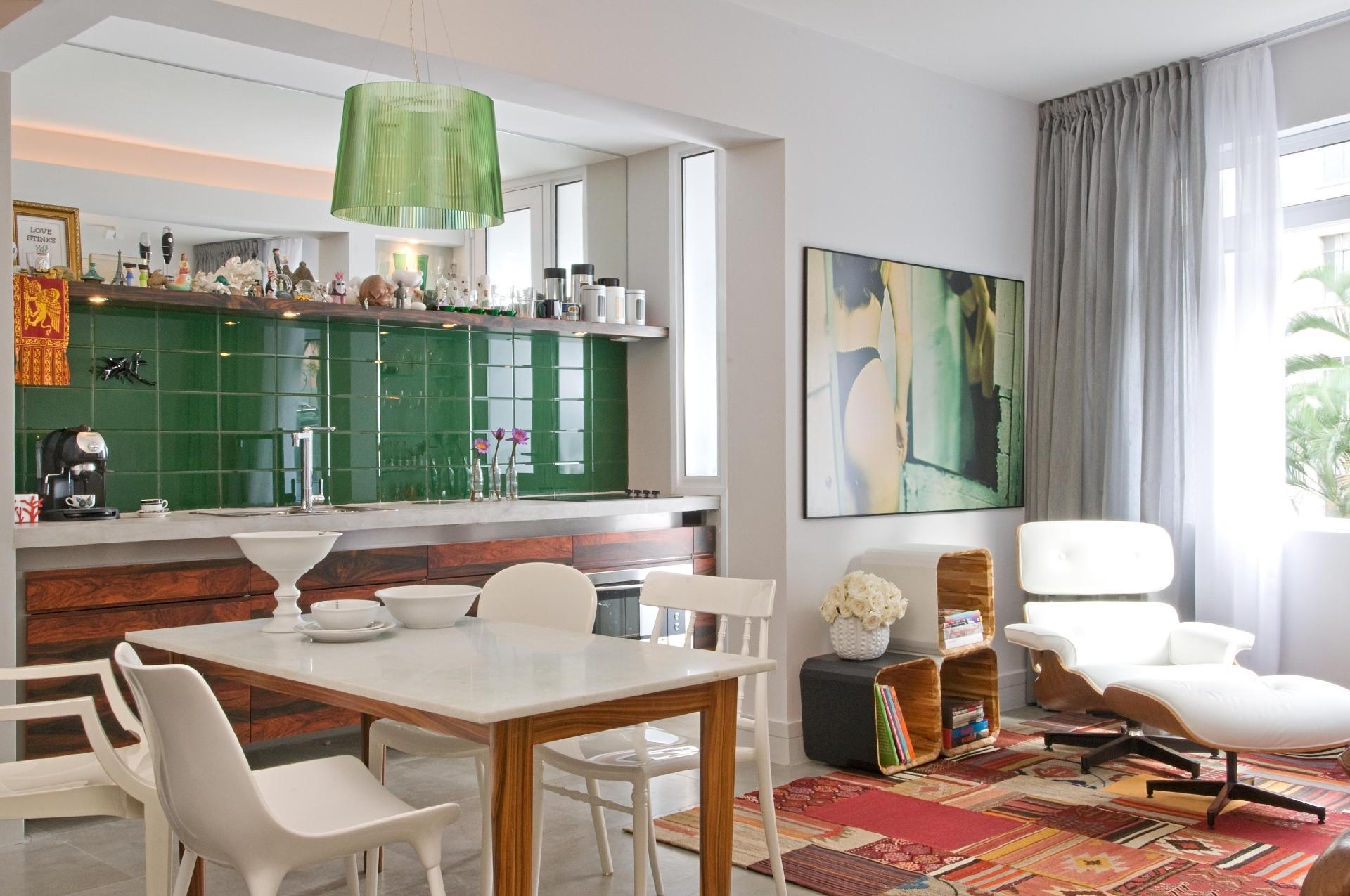 Como Dividir Sala E Cozinha Pequenas Decorao De Interiores Salas