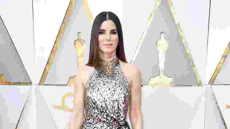 Sandra Bullock no Oscar 2018 - Getty Images - Getty Images