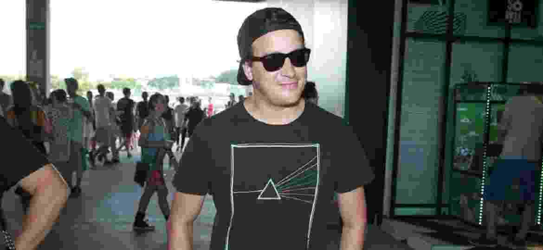 rafael cortez vai ao último dia de festival de música Lollapalooza, que acontece em São Paulo - Thiago Duran/AgNews