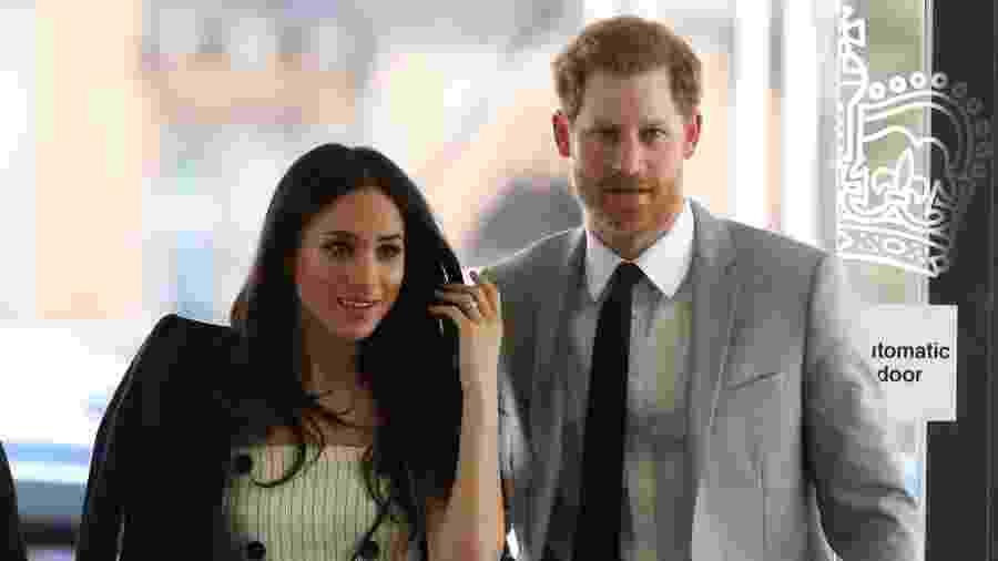 Meghan Markle e o príncipe Harry - Getty Images