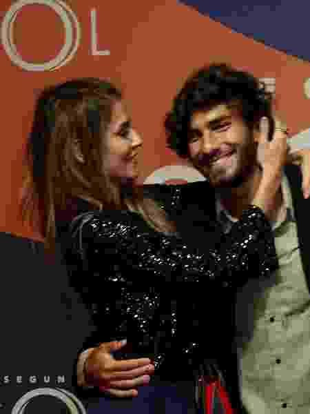 Deborah Secco e marido participam de lançamento de novela - Marcos Ferreira/Brazil News - Marcos Ferreira/Brazil News