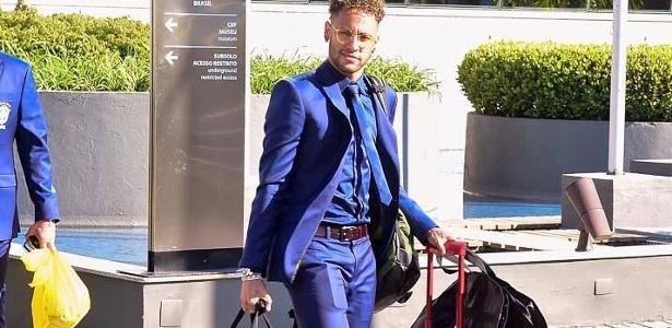 2b0740fe52b Neymar usa mala de R  6 mil em viagem da seleção a Londres - 29 05 2018 -  UOL Universa