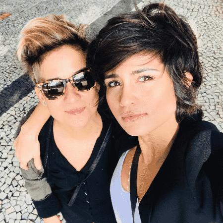 A percussionista Lan Lanh e a atriz Nanda Costa - Reprodução/Instagram