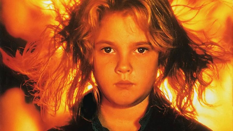 """A atriz Drew Barrymore no filme """"Chamas da Vingança"""" - Reprodução"""