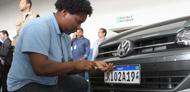 Rio de Janeiro começou instalação de novas placas em setembro deste ano