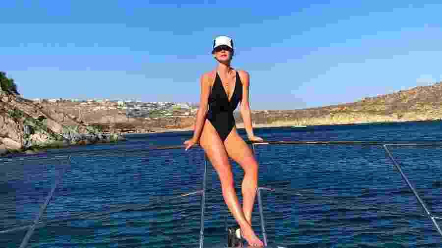 Marina Ruy Barbosa durante viagem à Grécia - Reprodução/Instagram/marinaruybarbosa