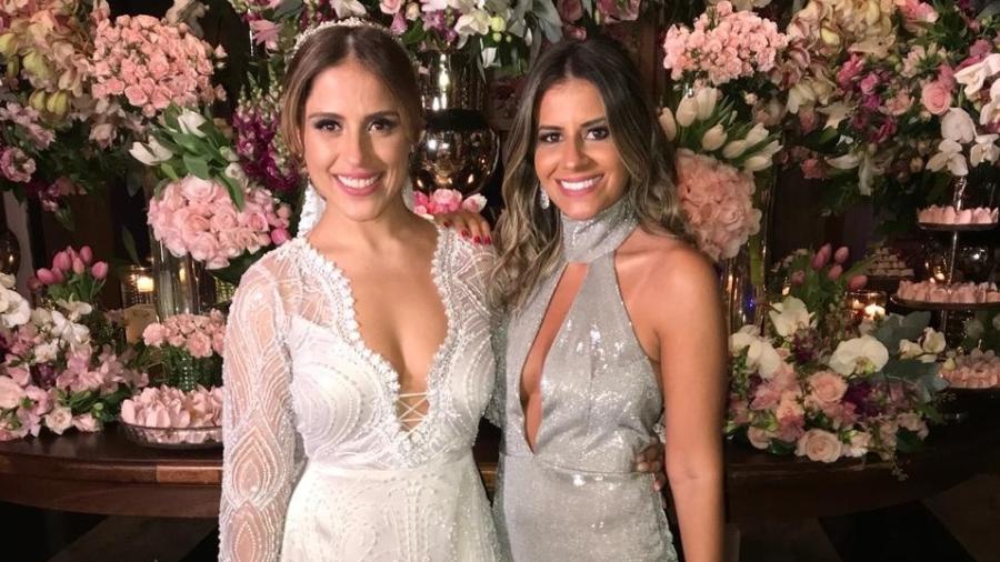 Camilla Camargo ganhou vestido de noiva de presente da amiga de infância, a estilista Monique Benitez - Arquivo Pessoal