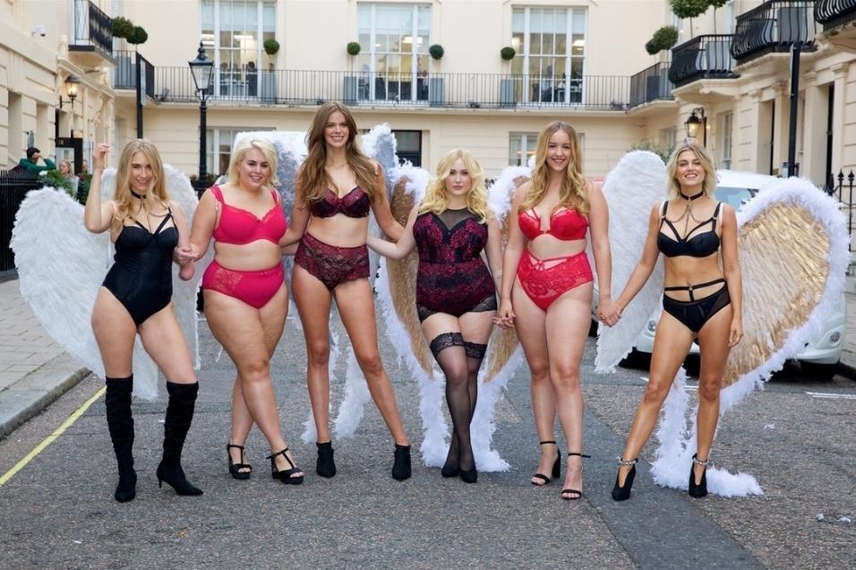 """""""Desfile da diversidade"""" organizado por modelos em Nova York"""