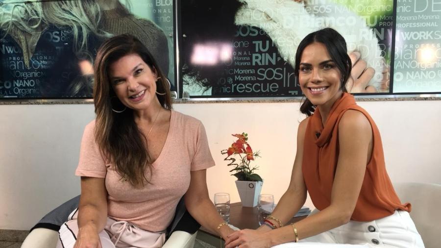 """Cristiana Oliveira fala sobre Juma para Daniela Albuquerque, no """"Sensacional"""" - Divulgação/RedeTV!"""