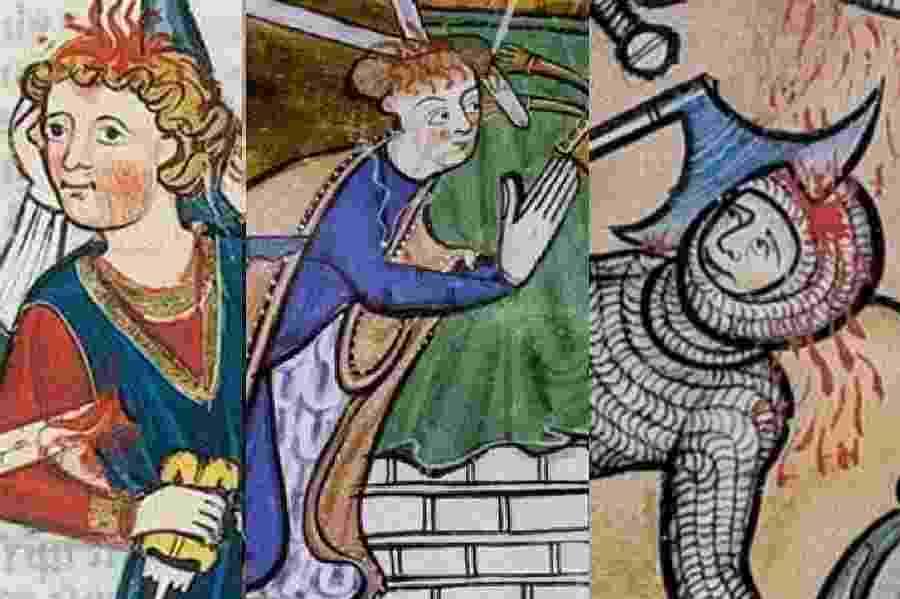 Arte medieval - Reprodução