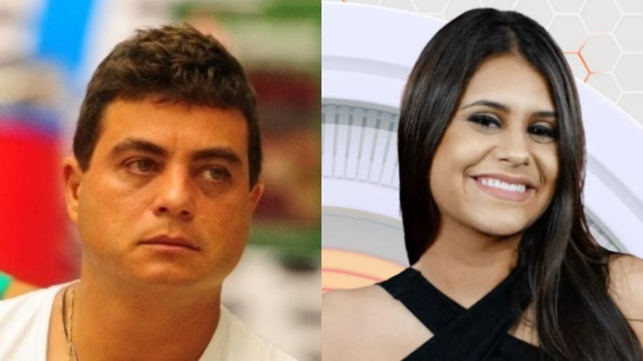 """Dhomini foi eliminado do """"BBB13"""" e Ana Paula deixou cedo o """"BBB18"""" - Reprodução/Globo"""