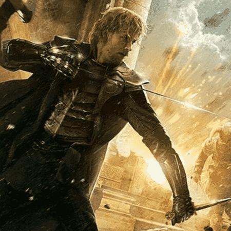 """Zachary Levi como Fandral na franquia """"Thor"""" - Reprodução - Reprodução"""