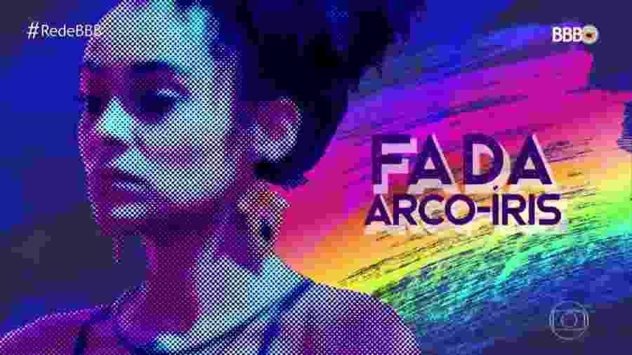 """Gabriela é a """"fada arco-íris"""" do """"BBB19"""" - Reprodução/TV Globo"""
