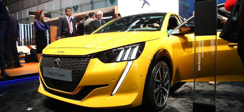 Novo Peugeot 208 no Salão de Genebra: feira é uma das maiores da Europa - Divulgação