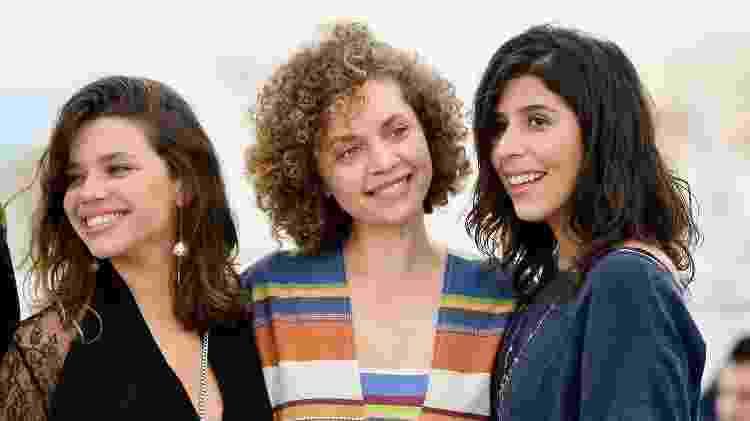"Bruna Linzmeyer, Marina Provenzzano e Flora Diegues divulgam ""O Grande Circo Místico"" no Festival de Cannes de 2018 - Emma McIntyre/Getty Images - Emma McIntyre/Getty Images"