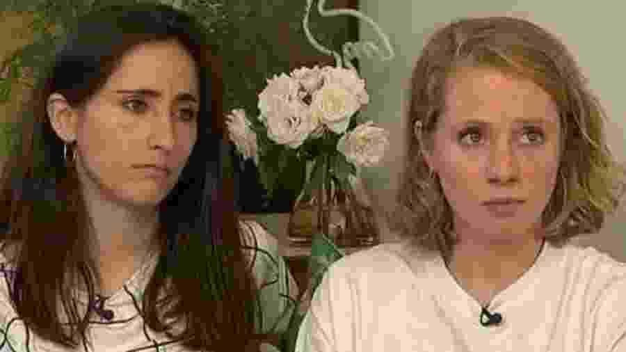 Melania Geymonat e a namorada, Chris - Reprodução/Channel 4