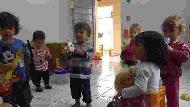 Creche Casa da Àrvore, em Rio Claro (SP): felizes e bem cuidados nas férias - Arquivo Pessoal