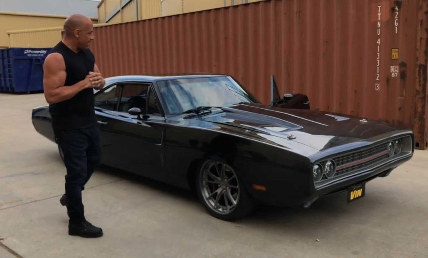 Aniversariante Vin Diesel Ganha Dodge 1970 Durante Gravacao De Velozes 9 24 07 2019 Uol Carros