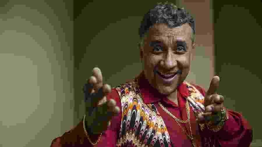 O humorista Maurício Manfrini, intérprete de Paulinho Gogó em A Praça É Nossa - Jardiel Carvalho/UOL