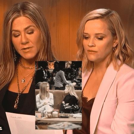 Jennifer Aniston e Reese Whiterspoon recriam cena clássica de Friends - Reprodução/Instagram