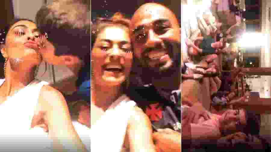 Atriz da Globo resolveu reunir os familiares em sua casa - Reprodução/Instagram