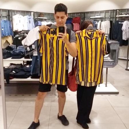 Camisa ganhou Instagram depois de thread mostrando pessoas usando a peça no Rock in Rio viralizou - Reprodução/Instagram