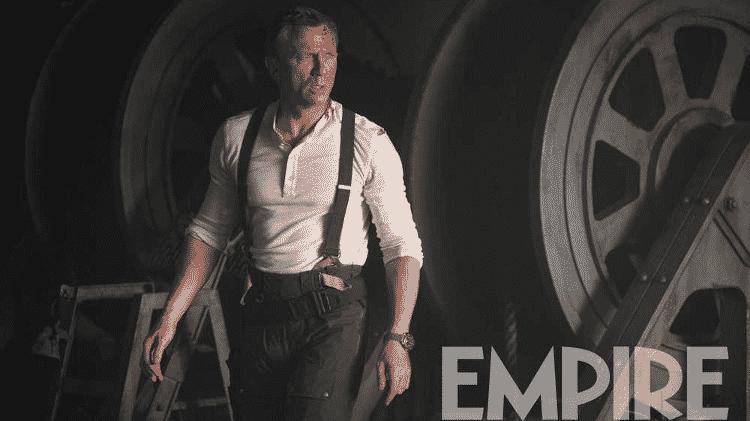 """Daniel Craig como 007 em cena de """"Sem Tempo Para Morrer"""" - Reprodução/Empire"""