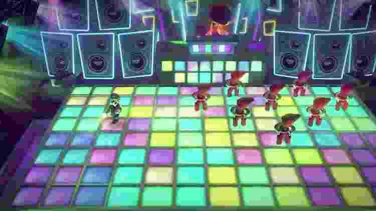 Jogo tem até fase com discoteca  - Divulgação/Nintendo