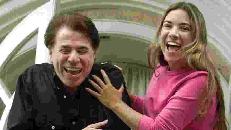 Silvio Santos e Patricia Abravanel após sequestro, em 2001 - Paulo Whitaker/Reuters