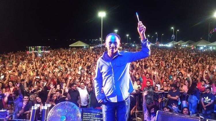Manoel Gomes, dono do hit Caneta Azul, sonha em lançar DVD e gravar clipe - Arquivo Pessoal