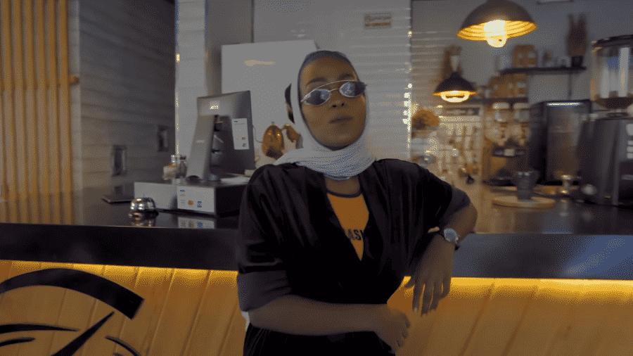 Asayel Slay, rapper presa pelo regime saudita - Reprodução/YouTube