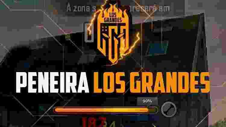 Outro time gigante do Free Fire nacional, Los Grandes está com 1,5 milhões de seguidores nas redes sociais - Divulgação